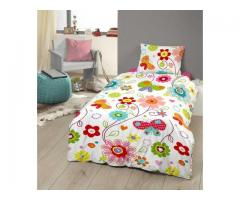 Kids Duvet Cover Set – 100% Cotton, Rotary print(140 x 240 cm)