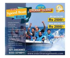 Pack your bags for adventure of CHURNA ISLAND