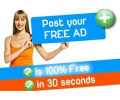 Top High Free  Classified Ad Posting Sites