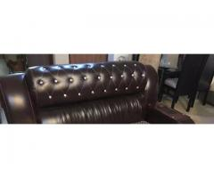 Few months used sofa set for sale in good amount