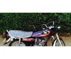 Honda 125 Karachi No 2017 for sale in good amount