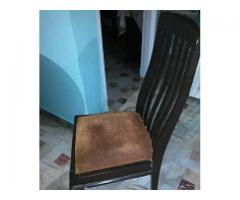 Shesham Dinning table with chairs good condition for sale
