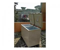Double door freezer for sale in good amount