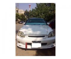 honda civic 2000 model with H23 engine and alot more for sale