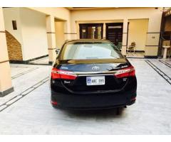 corolla grand 2016 cvt 1.8 for sale in good amount
