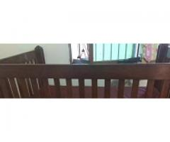 Kids cot with matres for sale