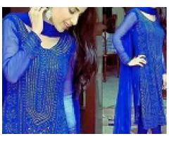 Aarmukesh / Kamdani Pakistani Handmade Dress for sale