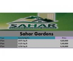 Sahar Garden Housing Scheme Quetta: plot on installments