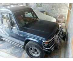 Mitsubishi Pajero for Sale 1986 Model reaosnable price