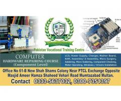 Computer Hardware & Software course Pakistan Vocational