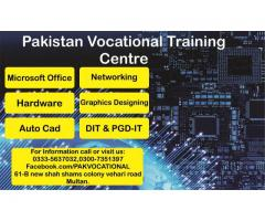 Graphics Designing Course in Vocational Training Centre