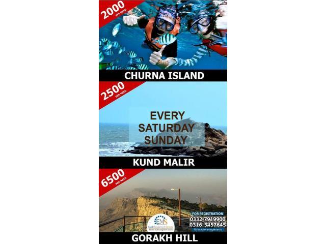 TRIP TO KUND MALIR, GORAKH HILL STATION OR CHURNA ISLAND