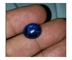 Transparent Star neelum good quality for sale
