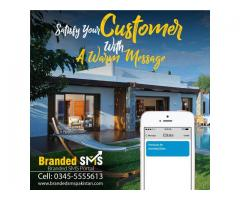Advertise your Brand Name Through Branded SMS Service