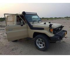 Toyata R.K.R Jeep 86 modal 2017 register for sale