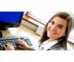 Computer operator With a good handsome salary