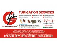 Sharp Fumigation services in Gulshan-e-Memaar
