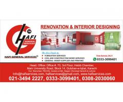 Great Renovation & Interior Designing by hafi in All Over khi