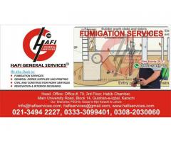 The end termite From your Home call hafi general services