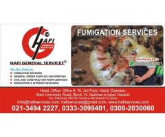 Reliable Bed BuGs Control Services By Hafi General Services