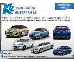 Automobiles Importer in Pakistan