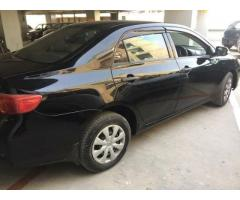 Toyota Corolla XLI converted to GL 2009 for sale