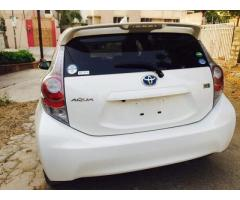 Toyota Aqua for sale in good amount