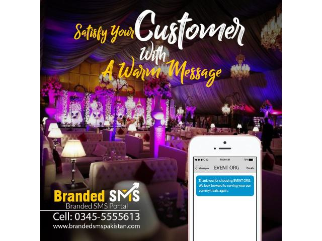 Advertise your Event Company Through SMS Services