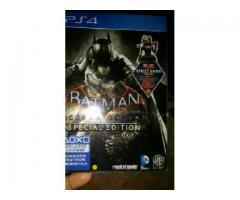 Ps4 steel book edition batman arkham knight for sale