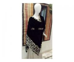 Velvet gowns and shawls for sale in good amount
