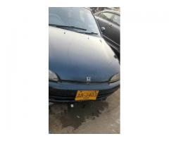 Honda Civic 1995 Duplicate Number Plates In Good Condition for sale