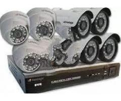 CCTV Cameras- All Types | Security guard might sleep for sale