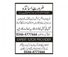 required tutors