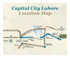 Residential Plot Capital City Lahore for sale on installments