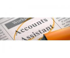 Required assistant accounts with a good salary