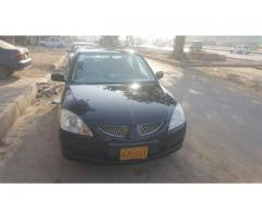 Mitsubishi lancer 1.6,2005 for sale in good amount