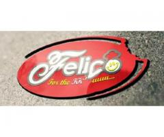 Felico company's Brand distribution Available for sale
