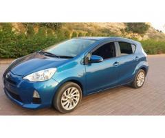 Toyota Aqua model 2014 for sale in good amount