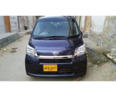 Daihatsu move unregistered 2013 Bank leasing facility available for sale