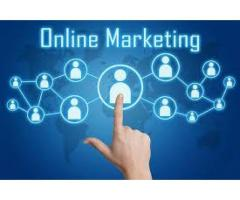 Online marketing with a handsome salary