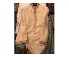 Sherwani and khussa for sale