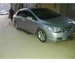 CIVIC REBORN VTI ORIEL PROSMETIC 2007 AUTO FOR SALE