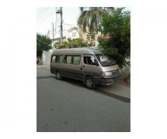 Hi ace 15 seater for sale in good amount