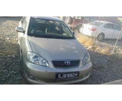 Corola Altis modol 2005..1600cc for sale in good amount