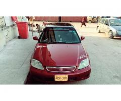 honda civic 2000 2001 automatic for sale in good rate