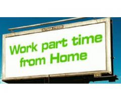 Part time home based work for job less man