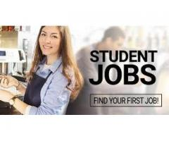Student Job handsome earning