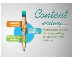 Content writing services for your make a good peak