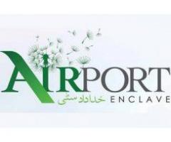 Airport Enclave Islamabad:10 Marla and 1 Kanal Residential plots on installment