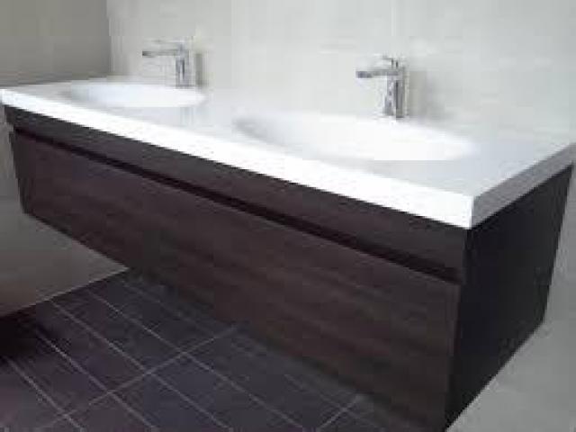 Corian vanities for the good looking bath